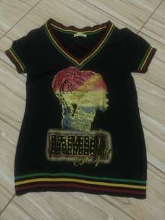 Reggae Design Top