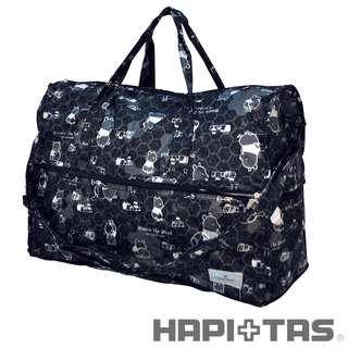 🚚 全新現貨。HAptais 2016 H002 PH3 日本 小熊維尼黑色 《中》旅行袋 行李袋 旅行收納袋