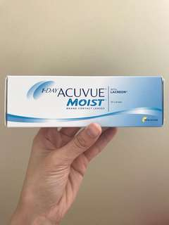 🚚 1 day Acuvue Moist contact lenses (800 degrees)