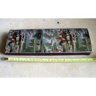 早期台灣製造古典圖案火柴一盒