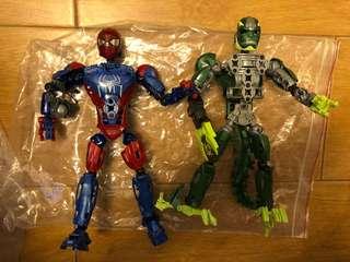 Mega blok spiderman