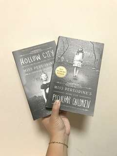 🚚 [FREE NM] Home for Peculiar Children and Hollow City by Ransom Riggs