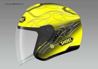 Shoei J Cruise Reborn Yellow