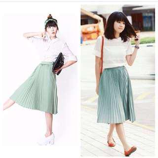 Afa pleat it again jade size m