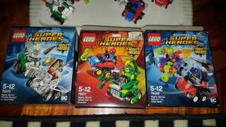 Lego might micros 3 sets lot sale