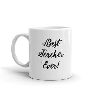 Teacher's Day Gift Customised Mug Personalised Name Calligraphy