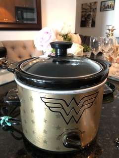 Wonder Woman Slow Cooker.