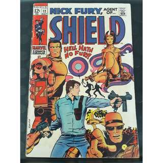 Nick Fury, Agent of SHIELD #12