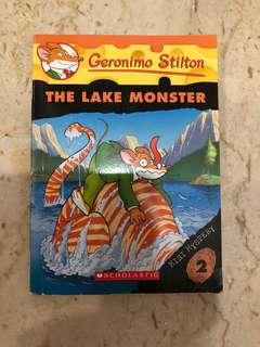 Geronimo Stilton - Mini Mystery 2 The Lake Monster