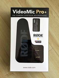 Røde VideoMic Pro+ 全新未開盒 Brand new unopened