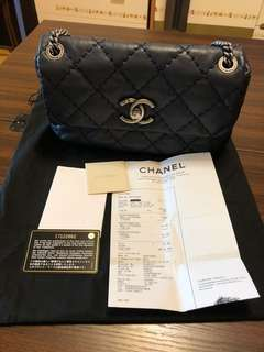 Chanel Navy flap bag