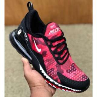 Ready stock I Nike airmax 270 bape pink