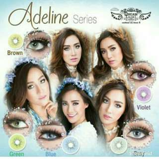 Softlens dream colour adeline series
