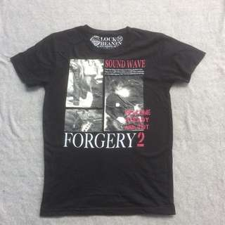 LOOK HEANEN FORGERY 2 TEE BLACK