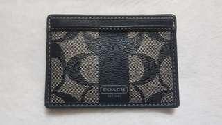 🚚 100%正品COACH防刮皮革五卡層證件、信用卡夾