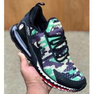Ready stock I Nike airmax 270 bape turqouise
