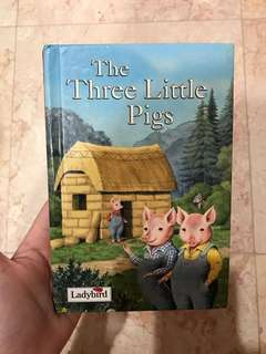 3 little pigs book