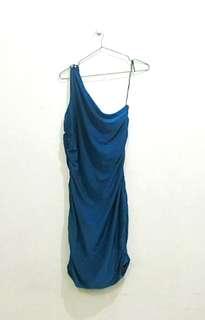 Dark blue-green (Teal) cocktail  dress