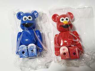 Bearbrick Series 32 - Elmo and Cookie Monster
