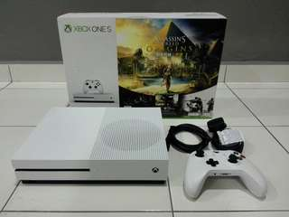 Xbox One S Fullbox 4K 1Terra With 15 Games