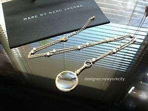 Marc by MARC JACOBS Gold Monocle Magnifier Necklace