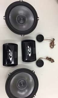 Alpine type R (SPR-17S) component speaker