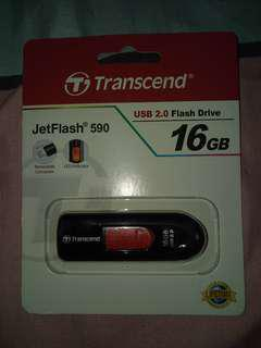 TRANSCEND 16GB FLASHDRIVE