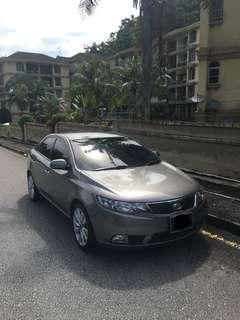 Kia Forte 1.6 SX (6 Speed) 2011