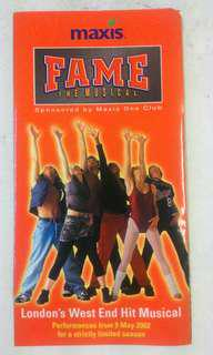 Fame the Musical Phamplet 2002