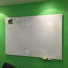 Glass whiteboard tempered 4'×6'