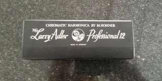 Authentic HOHNER The Larry Adler Professional 12 Chromatic Harmonica (Key of C)