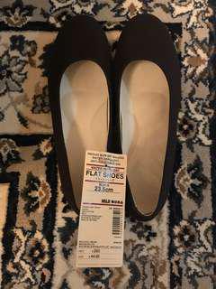 Muji 棉質平底鞋(全新)