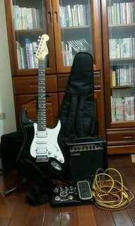 電吉他組 音箱 吉他 效果器 多樣配件