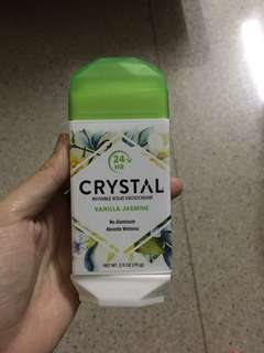 Crystal invisible solid deo
