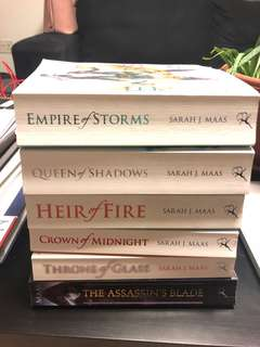 🚚 Throne of Glass Series