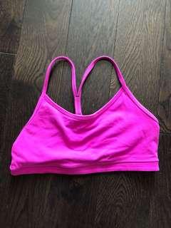 Used lululemon sports bra size 6