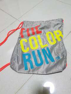 Colour Run Drawstring bag
