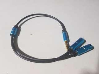 🚚 Audio splitter cable