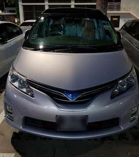 Toyota Estima 7 seater Hybrid