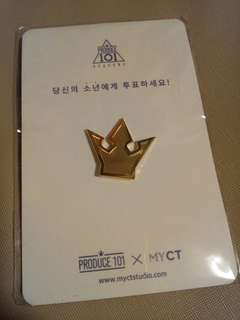 Produce101 Center Pin 釦針
