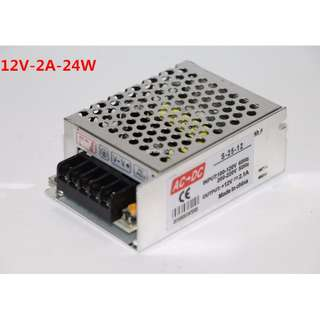 AC 220V TO DC 12V Switch Power Supply Driver Adapter for LEDs