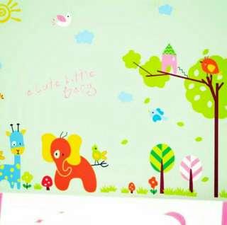 Cute Little Baby Wall Sticker