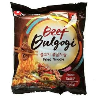 BULGOGI BEEF NOODLES