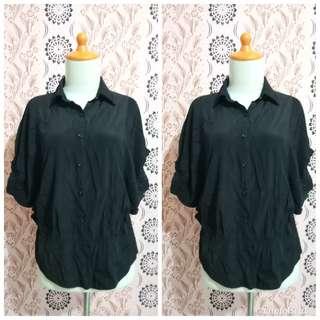 Black batwing shirt