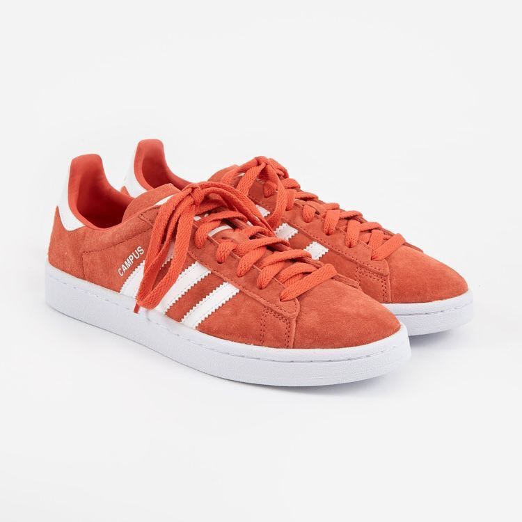 best service fd65c d5e8c Adidas Campus in Trace Scarlet, Mens Fashion, Footwear, Sneakers on  Carousell