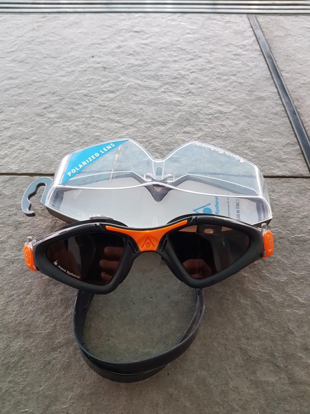 75a8aba6f8 Aqua Sphere Kayenne Swimming Polarized Goggles