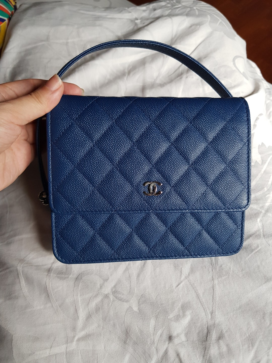 c2eb03ca0166 Authentic Chanel Square WOC, Luxury, Bags & Wallets, Sling Bags on ...