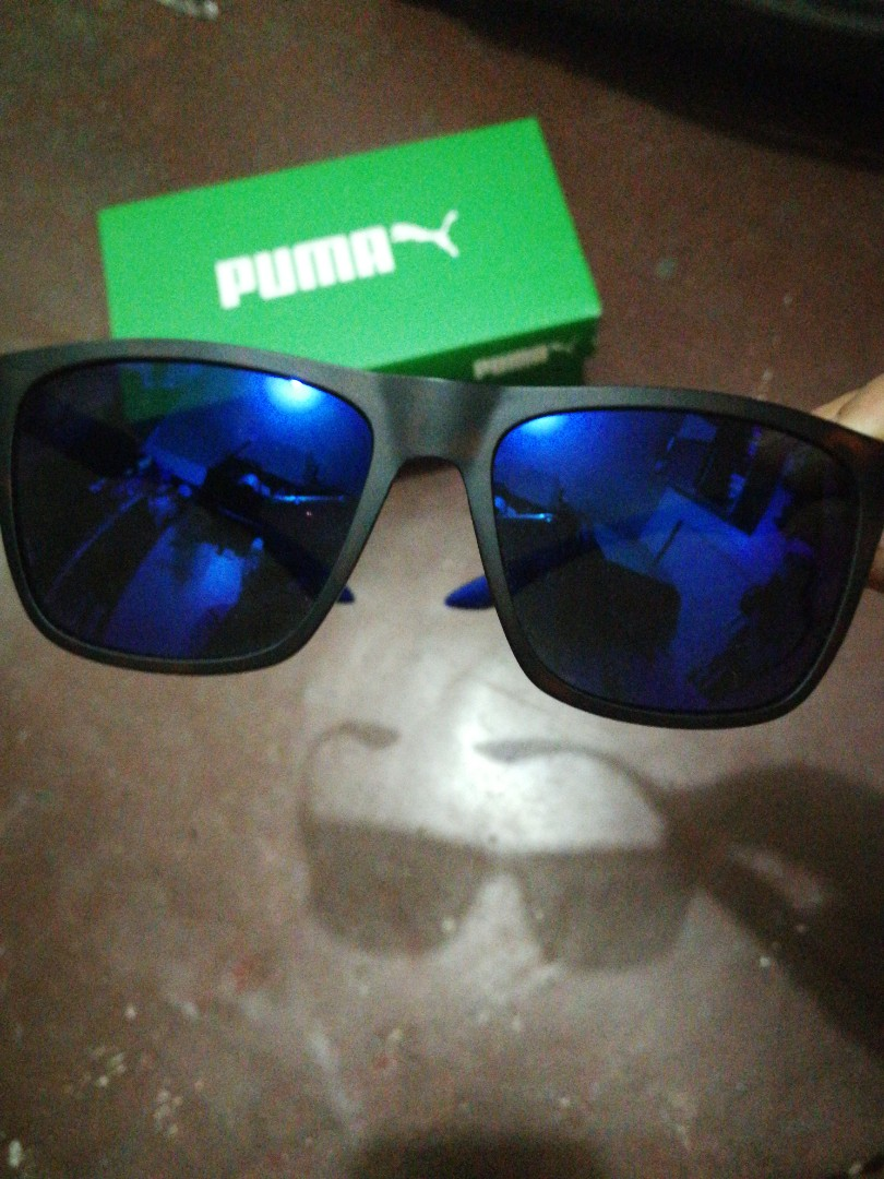 75e90e12419b Authentic Puma Sunglasses, Men's Fashion, Accessories, Eyewear ...