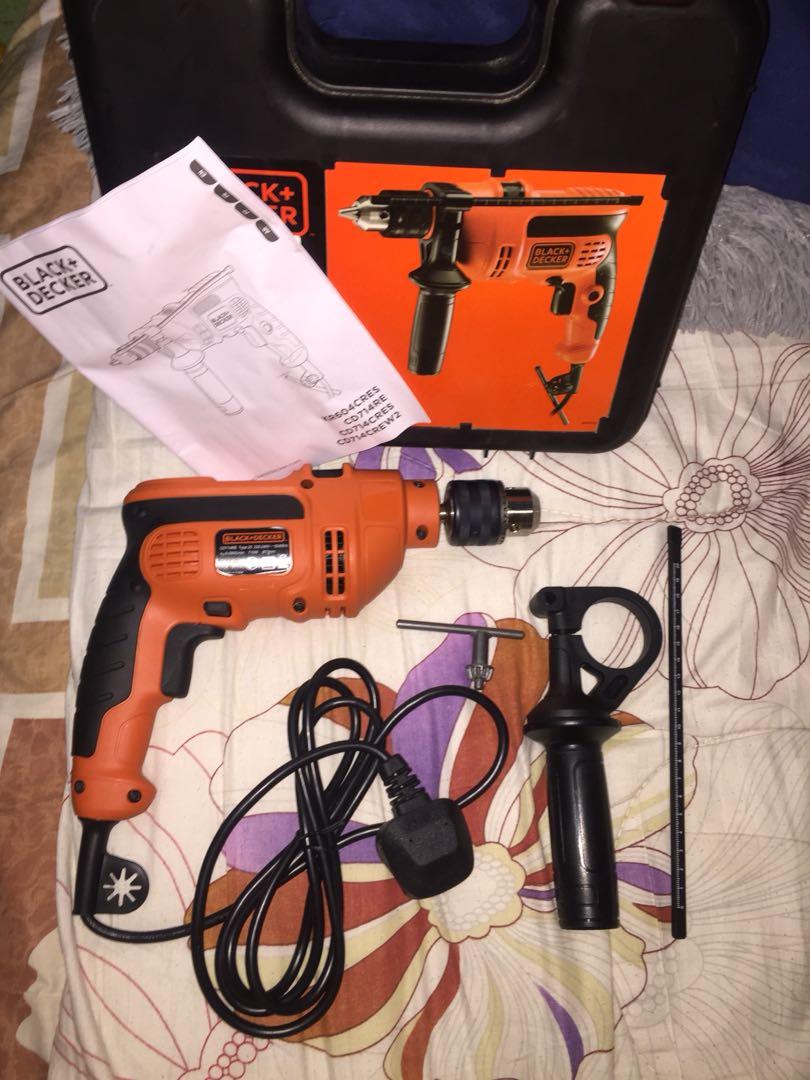 Cd Rek Accessoires.Black Decker Cd714rek Corded Electric Drill Auto Accessories