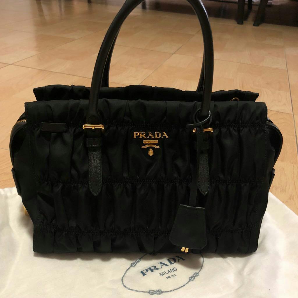 eebda420f91c BN Prada Tessuto Gaufre, Luxury, Bags & Wallets, Handbags on Carousell